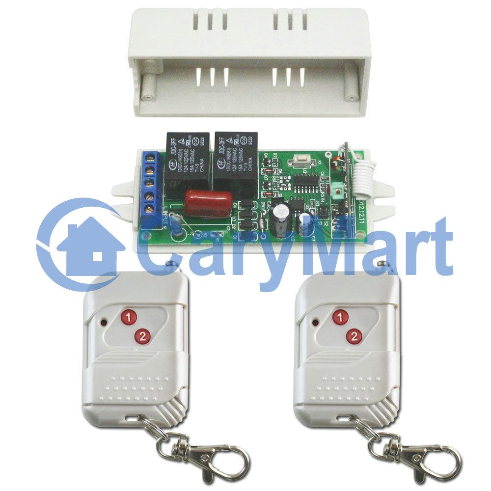 Kit commande radio moteur lectrique pour store auvent 110v 220v 2 canaux fon - Moteur electrique pour store banne ...