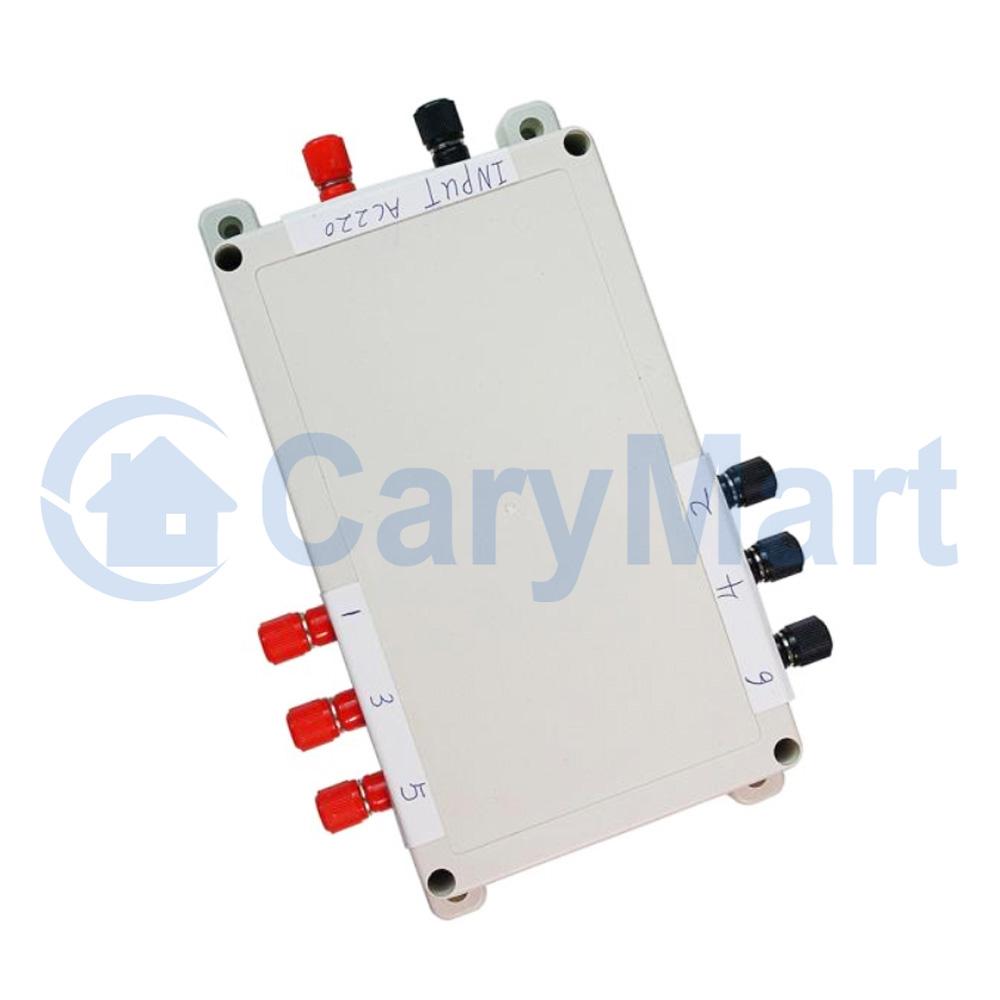 4 canaux ca 220v 30a t u00e9l u00e9commande sans fil contr u00f4le l u0026 39 interrupteur double
