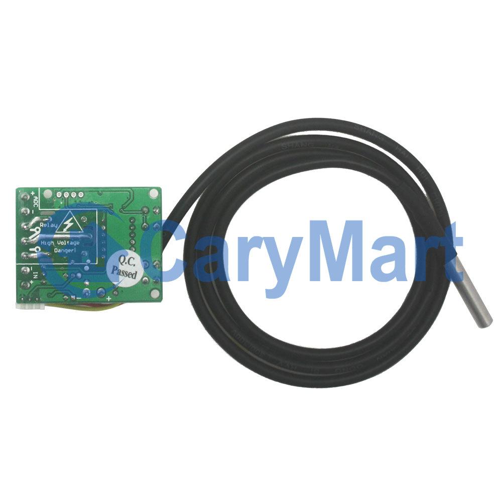 R gulateur de temp rature contr ler contr leur de relais for Controleur de tension electrique